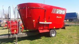 Wóz paszowy ciągniony Mixell