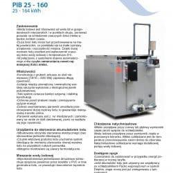 Akumulator lodu do schładzania mleka PIB25-160