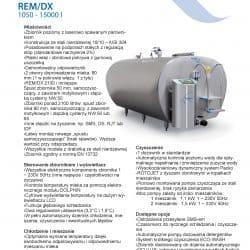 Schładzalnik do mleka REM/DX